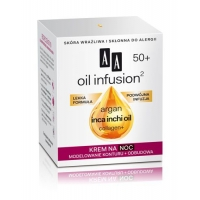 AA oil infusion² 50+ NIGHT CREAM CONTOUR MODELLING & REGENERATION 50 ml