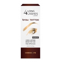 LONG 4 LASHES by Oceanic BROW TATTOO CHOCOLATE / ESPRESSO / DARK 8 ml