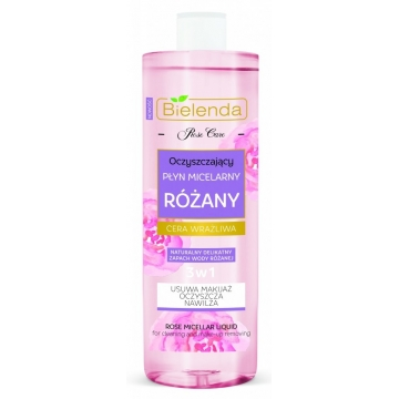 BIELENDA Rose Care ROSE CLEANSING MICELLAR LIQUID 500 ml