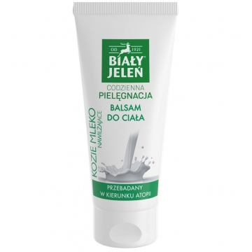 BIAŁY JELEŃ Daily Care BODY LOTION MOISTURIZING GOAT'S MILK 200 ml