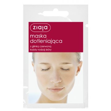 ZIAJA OXYGENATING MASK WITH RED CLAY