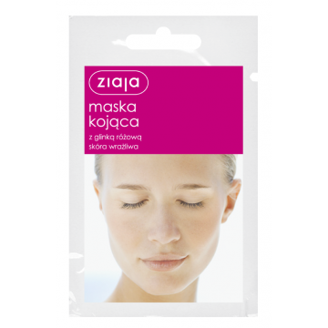 ZIAJA SOOTHING MASK WITH PINK CLAY