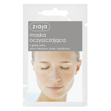 ZIAJA CLEANSING MASK WITH GRAY CLAY