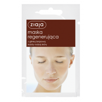 ZIAJA REGENERATING MASK WITH BROWN CLAY