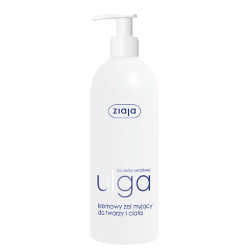 ZIAJA Relief CREAMY CLEANSING GEL FOR FACE & BODY
