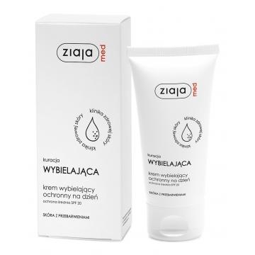 ZIAJA MED WHITENING Treatment PROTECTIVE WHITENING DAY CREAM SPF20