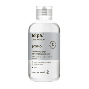 TOŁPA DERMO FACE PHYSIO DUO-PHASE EYE MAKE-UP REMOVER