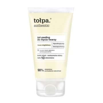 TOŁPA AUTHENTIC FACE CLEANSING GEL SCRUB