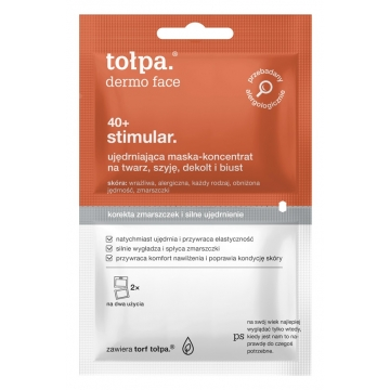 TOŁPA DERMO FACE STIMULAR 40+ FIRMING ANTI-WRINKLE MASK - CONCENTRATE