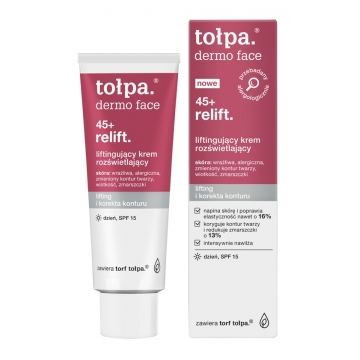 TOŁPA DERMO FACE RELIFT 45+ LIFTING DAY CREAM BRIGHTENING SPF15